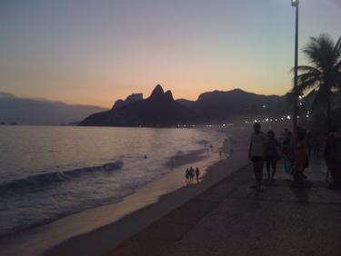 Rio de Janeiro Pictures Arpoador Beach