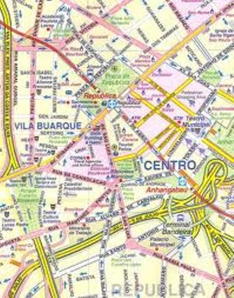 Sao Paulo Map - Map of sao paulo