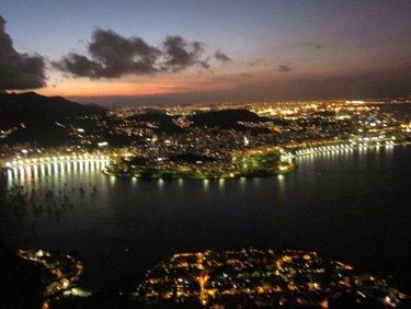 Rio de Janeiro Pictures Botafogo Beach Night